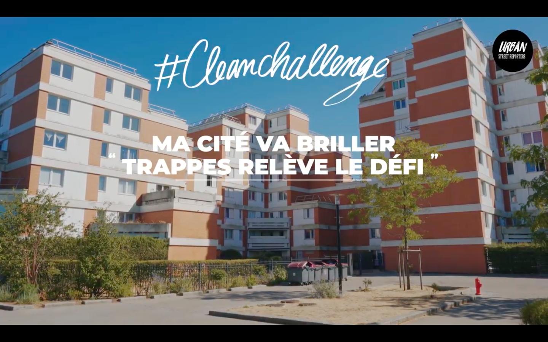 Trappes relève le défi du Clean Challenge !